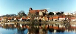 Blick auf den Dom St. Marien in Havelberg