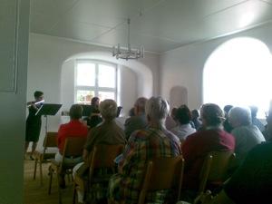 24.07.2010 Konzert des Kammermusikkreises im neuen Probenraum (Ostfluegel)