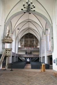 Kirche St. Laurentius auf der Havelberger Stadtinsel - Orgel
