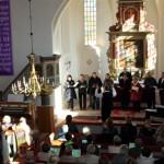 2011 - Abschiedsgottesdienst für Gabi und Thomas Krispin in Nitzow