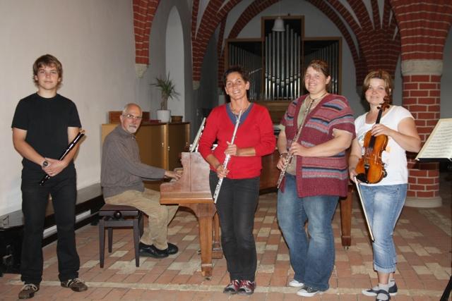 Kammermusikkreis bereicherte musikalisches Angebot in der Gemeinde