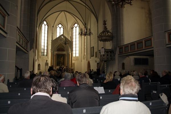 Konfirmationsjubiläum 2012 in Havelberg