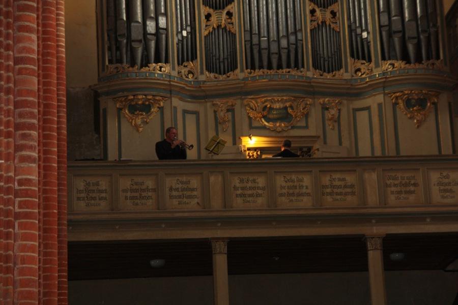 25. August 2012 – Konzert für Trompete und Orgel, Dom