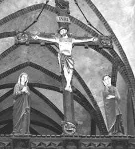 Havelberger Dom, Triumphkreuzgruppe, 13. Jh.