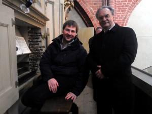 Dr. Reiner Haseloff, Ministerpräsident von Sachsen-Anhalt, besuchte den Dom St. Marien zu Havelberg.