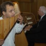Wenn Panflöte und Orgel aufeinandertreffen …