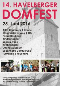 domfest havelberg 2016