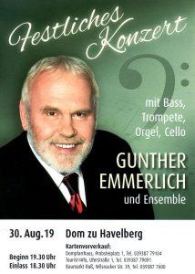 Festliches Konzert mit Gunther Emmerlich in Havelberg