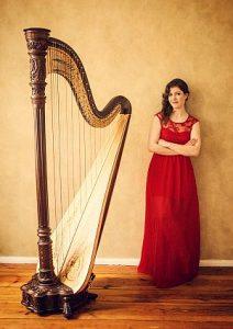 Harfenkonzert mit Jessyca Flemming
