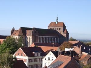 Blick auf die Nordseite des Havelberger Doms