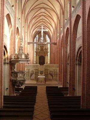 Havelberger Dom St. Marien - Innenansicht