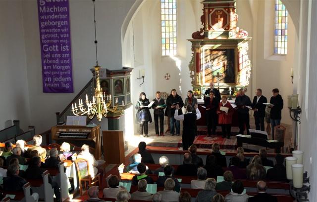 16.10.2011 - Abschiedsgottesdienst für Gabi und Thomas Krispin in Nitzow