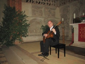 Gitarre und Bach im Dom zu Havelberg