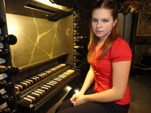 Attraktives Orgelkonzert mit junger russischer Organistin