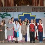 2015: Kinderchor bei der Probe für das Musical