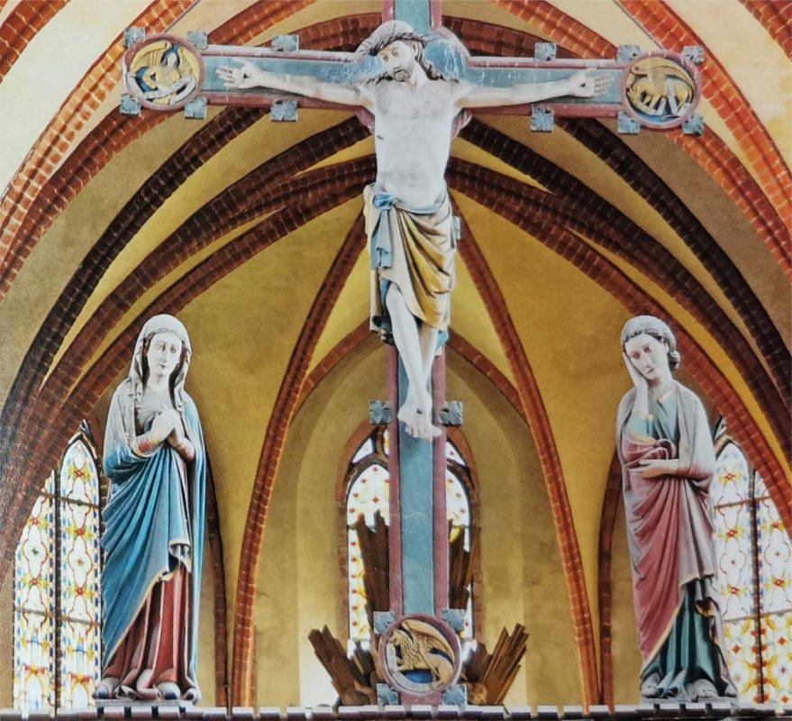 Triumphkreuzgruppe im Dom St. Marien