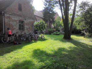 Pfarrhaus Garten
